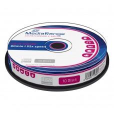 CD-R 700MB 80min MEDIARANGE  CAKE 10TEM